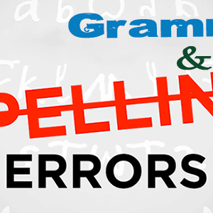 English Grammar and Spelling Errors