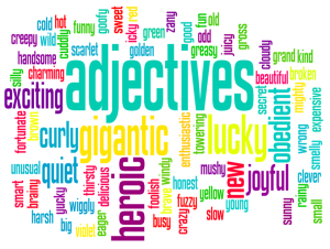 Adjectives!