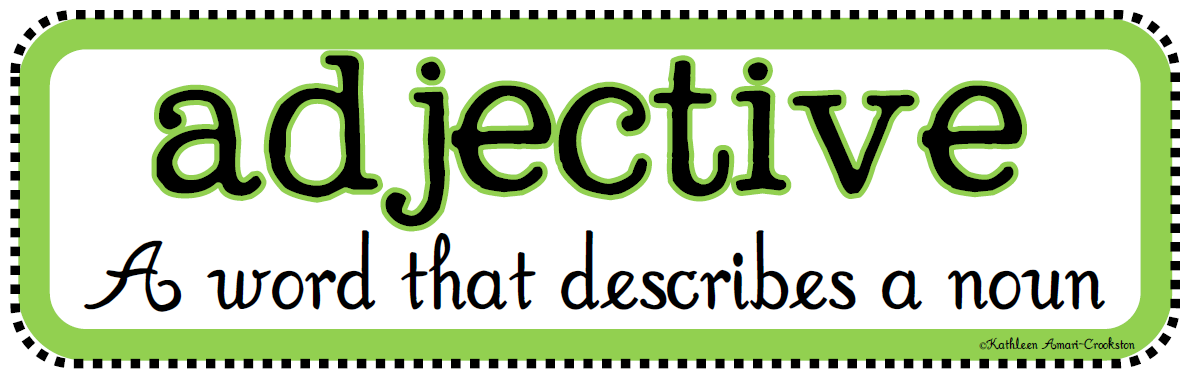 Adjectives - Part BEduMuch