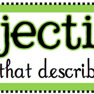 Adjectives7