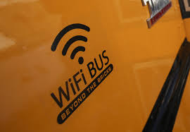 Free WiFi! On Schoolbuses?!