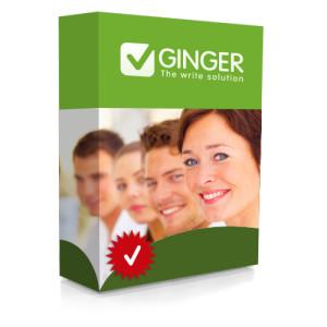 Ginger Grammar Software Box