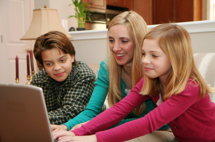 Internet being used in home schooling