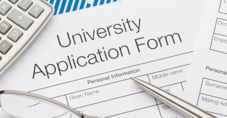 University application form