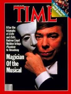 Andrew Lloyd Webber Time Magazine