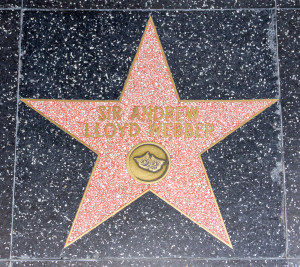 Andrew Lloyd Webber Hollywood Boulevard