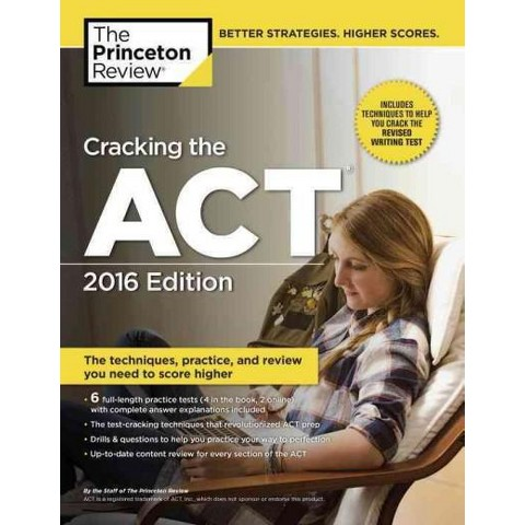 See all results for princeton review act. Cracking the ACT Premium Edition with 8 Practice Tests, The All-in-One Solution for Your Highest Possible Score (College Test Preparation) Dec 5, by Princeton Review. Paperback. $ $ 22 43 $ Prime. Save $ with coupon.
