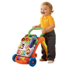 VTech Sit-to-Stand Learning Walker standing