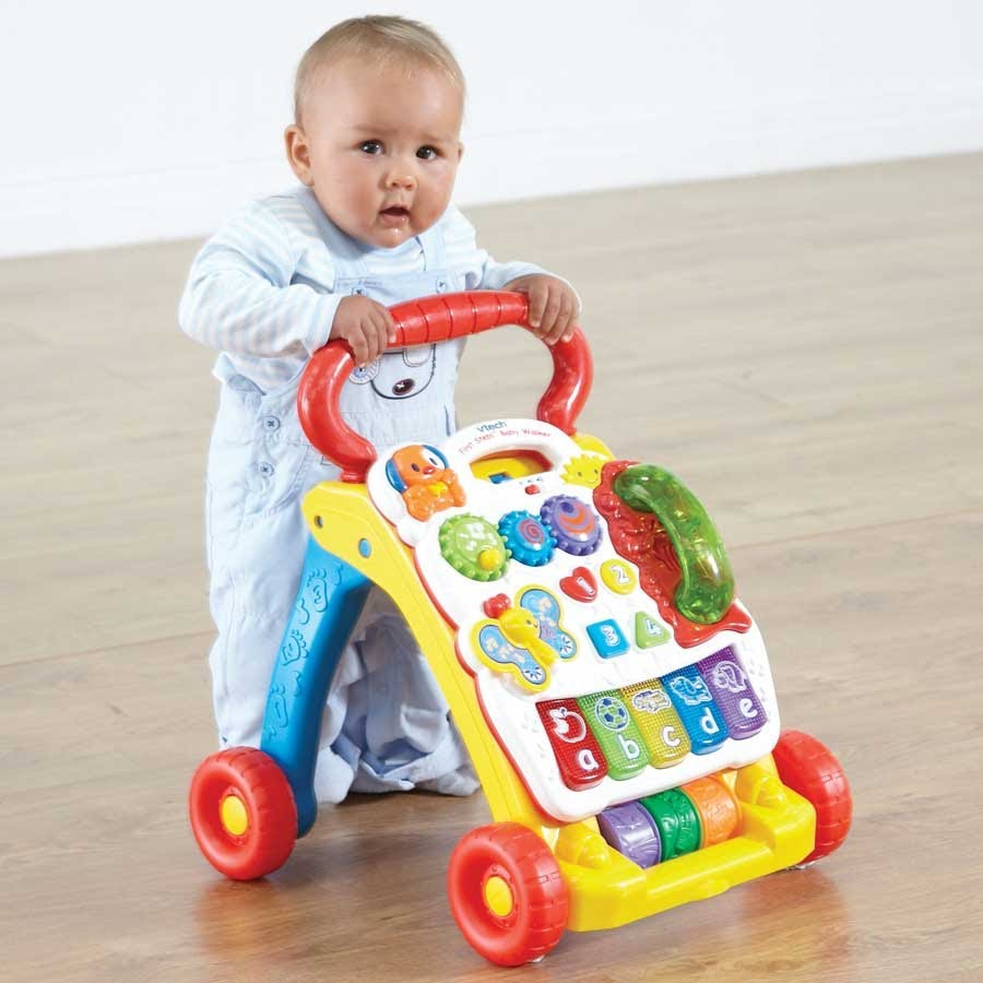 VTech Sit-to-Stand Learning Walker ReviewEduMuch