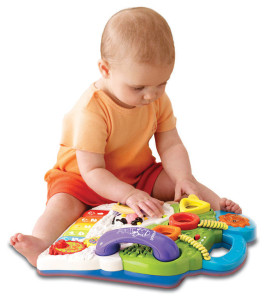 VTech Sit-to-Stand Learning Walker sitting