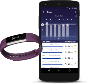 fitbit alta with smarttrack