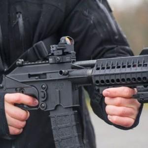 Kel-Tec PLR 16 shooting